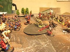 Battle joined (Zombie Master) Tags: warmachine menoth hordes skorne