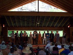 Band contest finalists at RockyGrass 2009
