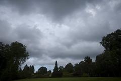 Black Skies over the Botanic Garden (frankps) Tags: oslo clouds tyenhagen oslobotanicalgarden tyenbotaniskehage botanicgardenoslo