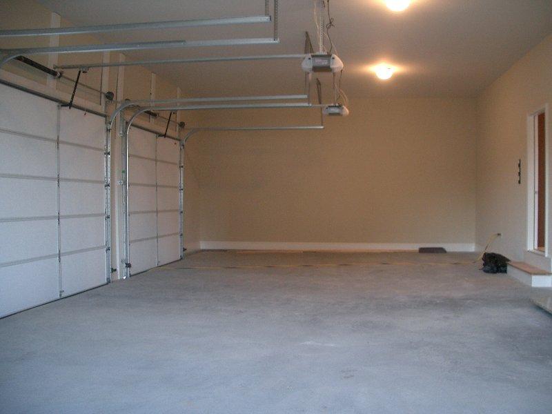 Unimproved garage