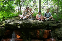 me helen deena adam at yellow springs 2 (msnyc111) Tags: ohio adam me helen deena