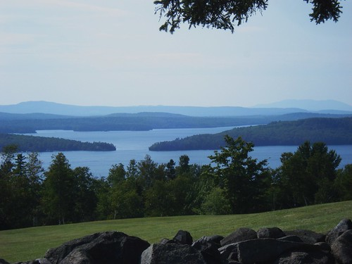 view of Moosehead Lake