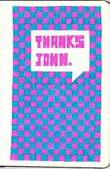 A message for John Hughes. (Lee Crutchley | Quoteskine) Tags: art moleskine typography design lyrics rip sketchbook quotes type homealone pens songs ferrisbueller handdrawn felttip thebreakfastclub johnhughes weirdscience quoteskine