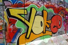 yoke kus (pranged) Tags: pool rose swimming graffiti greg 26 leeds bank crew kens em ep bsa kus 2061 tsm tfa phuck lank phibs thk