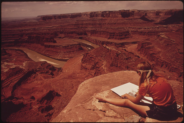 The View from Dead Horse Point: Canyonlands and the Colorado River, 05/1972