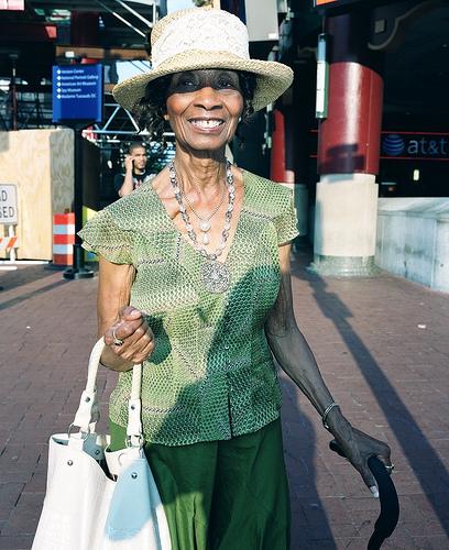 Ms. Harris, 84 years old