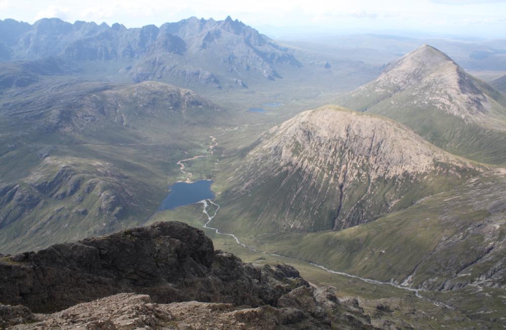 Ruadh Stac, Marsco and the Cuillin ridge