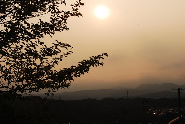 Sunset over Miyagi