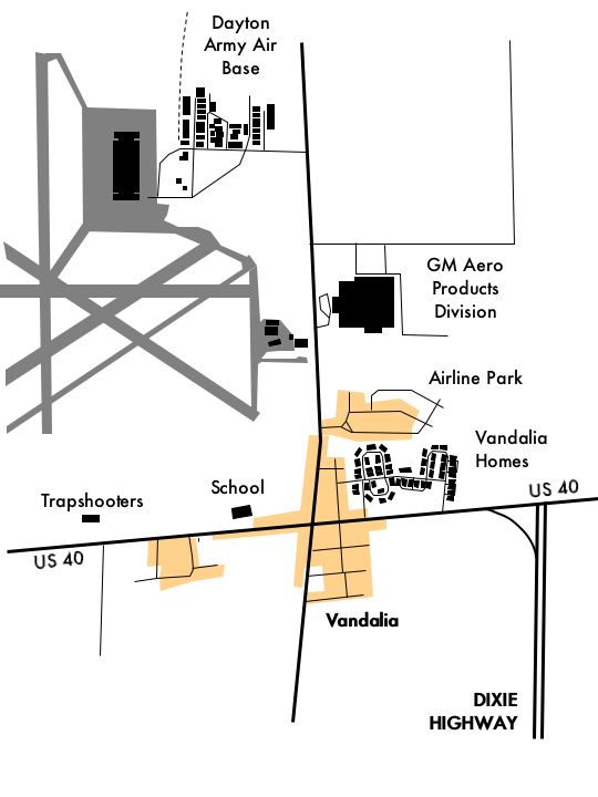 show map of dixie highway