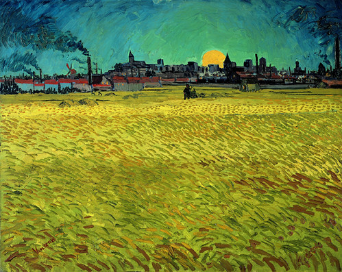 van-gogh, summer evening june1888