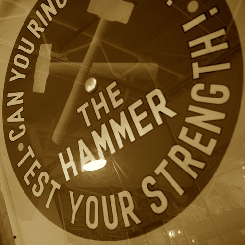 The Hammer Test Your Strength