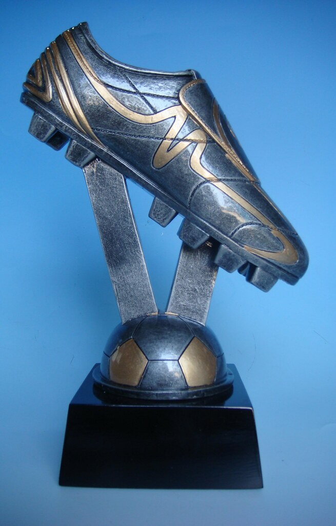 polyresin boot trophy