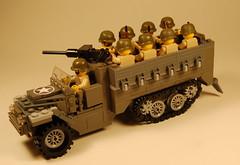 M2 Halftrack Version 3 (appius95) Tags: lego wwii halftrack brickarms brickforge m2halftrack