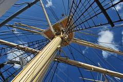 Dar  Pomorza (olenka :)) Tags: catchycolors ship poland gdynia darpomorza nikond60 thebp