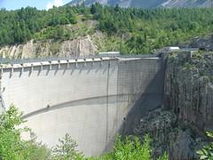 La diga del Vajont (ghianda13) Tags: 2009 belluno diga vajont