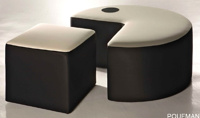 poufman-modern stylish chair design
