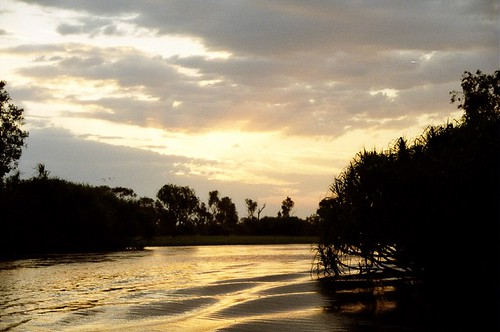 Yellow waters sunset 3