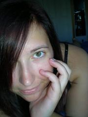 Imma star (erica814xo) Tags: me smile self hazeleyes brunette