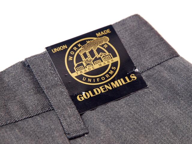 GOLDENMILLS / Plain Flat Pant