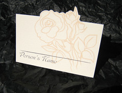 Wedding Stationary - Place Card