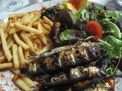 Our dinner (timelas) Tags: france nath marseilles