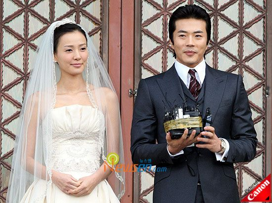 Korea Actress Kwon Sang-woo and Son Tae-young??s wedding Photos - beautiful girls
