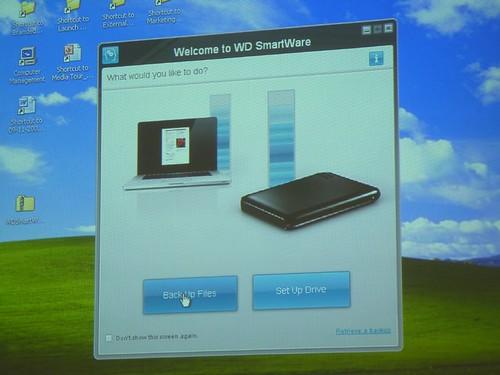 WD SmartWave Software