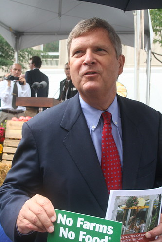 White House Farmers Market vilsack