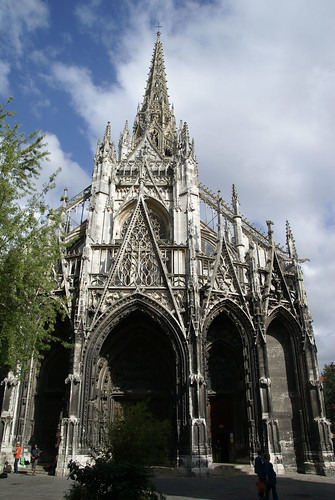 rouen st maclou church 1