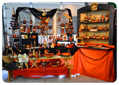 Johanna-Halloween-display