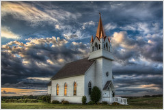 The Chapel On The Hill (glness) Tags: windows sunset fall church clouds geese sundown hill chapel steeple migration hdr foresthills highway10 detroitlakes chapelonthehill canonef24105mmf4lisusm beckercounty minnesotamn saariysqualitypictures canon5dmarkii gregness foresthillsrvandgolfresort