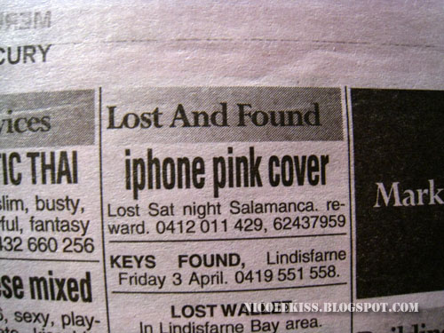 iphone pink cover