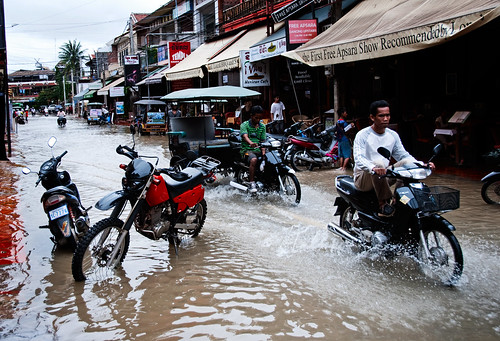 Siem Reap flooded 13