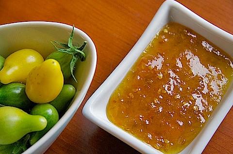 Green Tomato Marmalade – TheMessyBaker.com