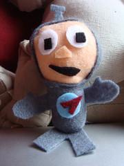 Felt Spaceman