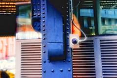 ucme (mudpig) Tags: park camera nyc newyorkcity newyork reflection geotagged surveillance security spy orwell privacy highline orwellian mudpig stevekelley