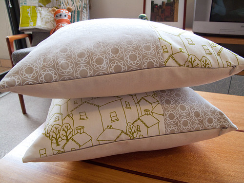 finished cushions