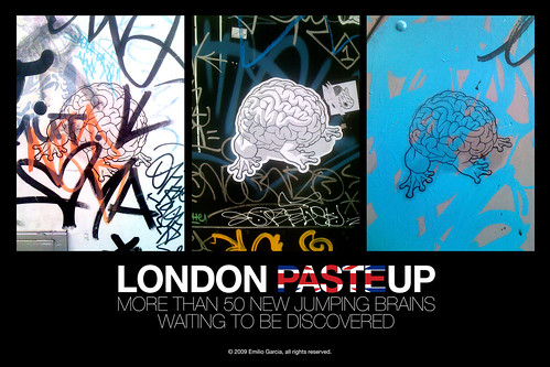 LONDON PASTEUP by Emilio Garcia