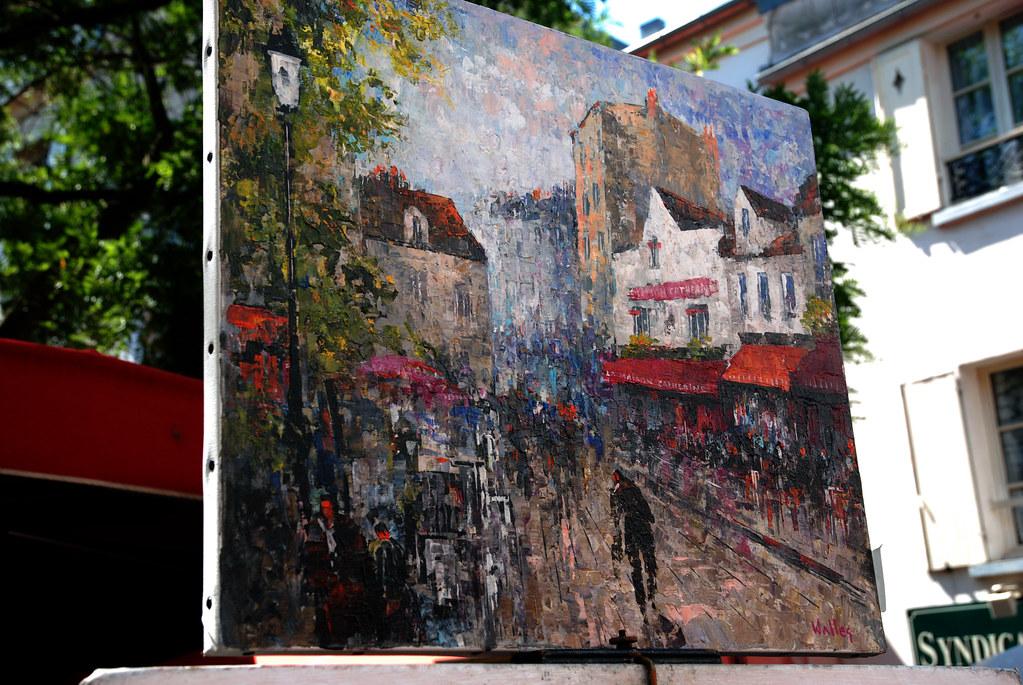 Paris Street Art - Montmarte (II)