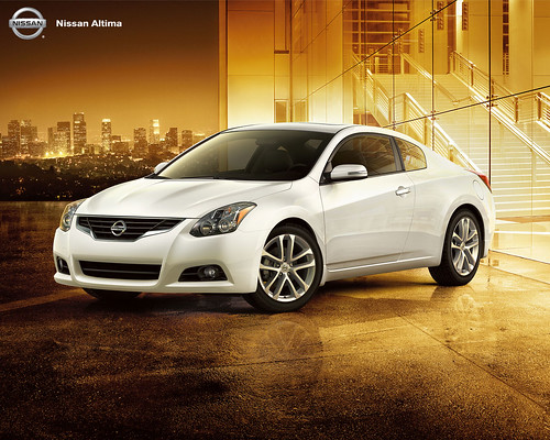 2010 Nissan Altima Coupe Shots (Set)
