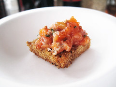 trout tartar @ nycwff