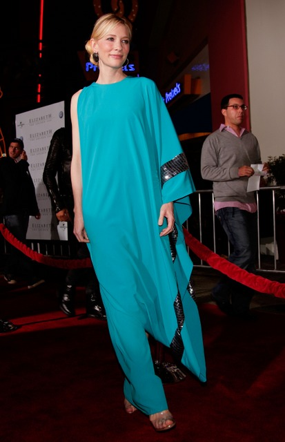 Cate Blanchett Missoni toga