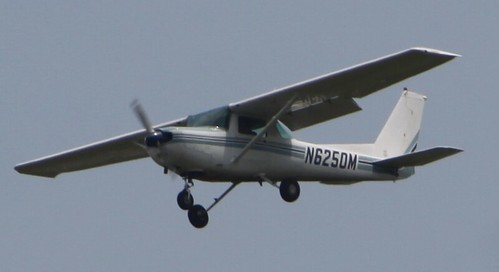 The Cessna 152 in which I learned to fly.