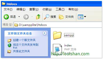 localhost - file structure