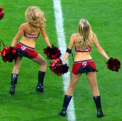 Tampa Bay NFL cheerleaders