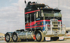 Ken Green (deviatea) Tags: truck transport australia catchy coe downunder kw rebuilt kenworth showtruck cabover k100 kengreen aerodyne