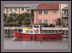 ferry Taurus (Welsh Harlequin) Tags: docks bristol harbour avon picnik buoyant