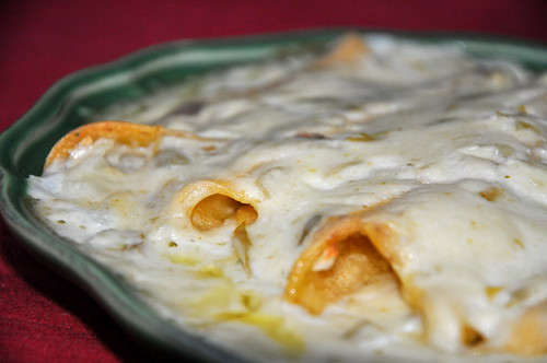 Our First Post: Mom's Sour Cream Enchilada Recipe - The Classic and ...