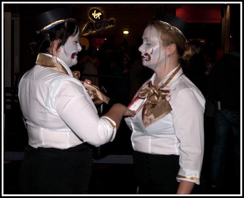 Have Lesbian air stewardesses