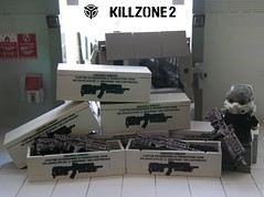 Lego KILLZONE 2 : DEFEND OUR PLANET (ORRANGE.) Tags: 2 lego propaganda hazel custom sta 52 helghast killzone visari helghan
